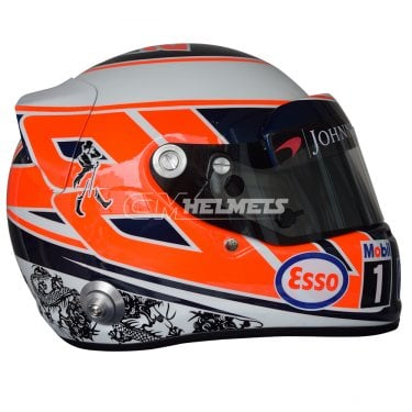 JENSON BUTTON 2016 F1 REPLICA HELMET FULL SIZE