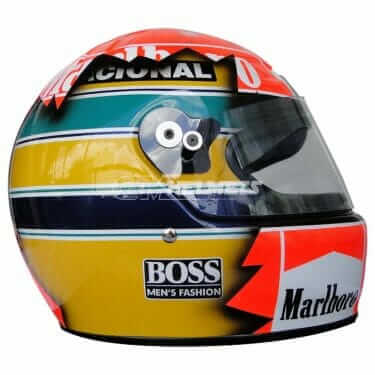 ayrton-senna-and-michael-schumacher- artistic-design-f1-helmet
