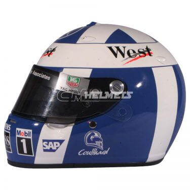 DAVID COULTHARD 2004 F1 REPLICA HELMET FULL SIZE