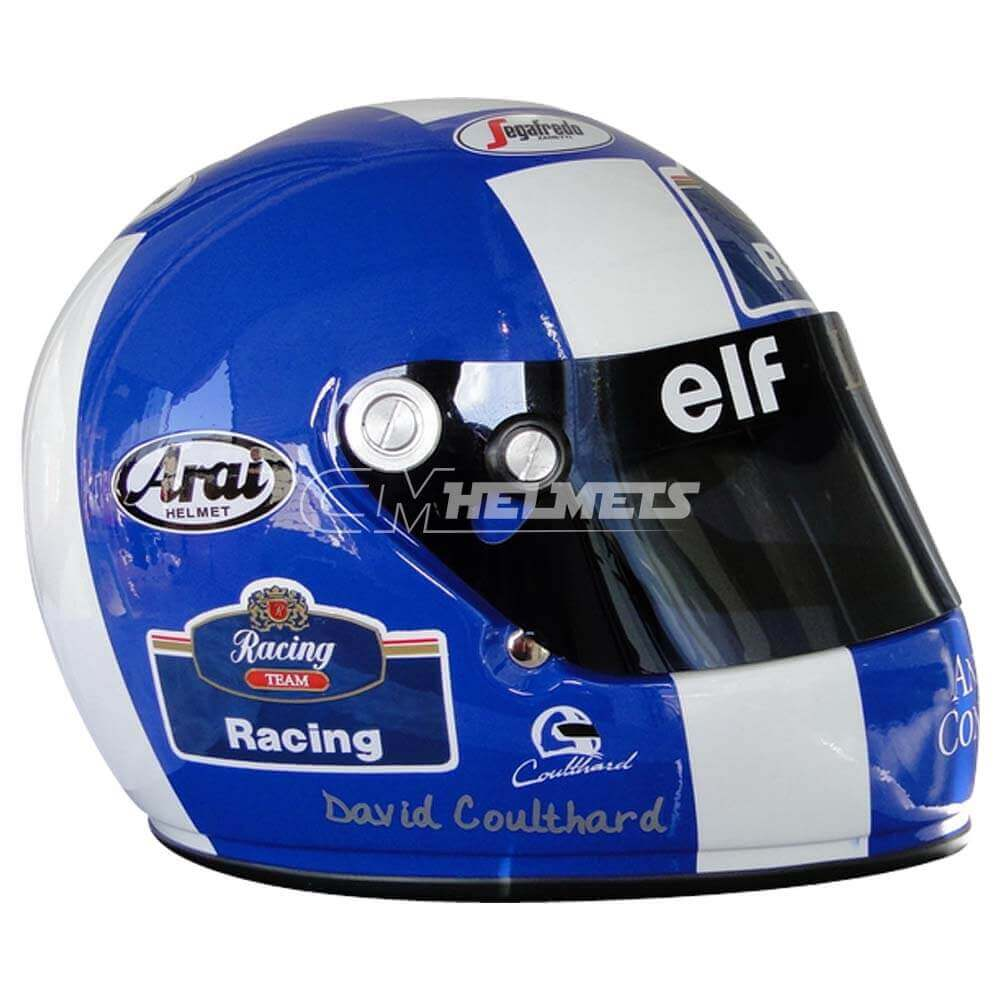 DAVID COULTHARD 2005 F1 REPLICA HELMET FULL SIZE