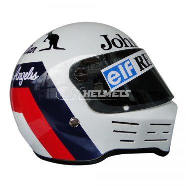 ELIO DE ANGELIS 1984 F1 SIMPSON BANDIT F1 REPLICA HELMET FULL SIZE