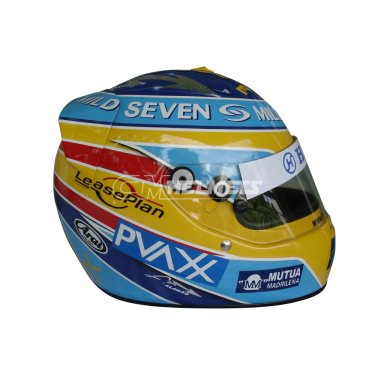 FERNANDO ALONSO 2006 WORLD CHAMPION MILD SEVEN F1 REPLICA HELMET FULL SIZE