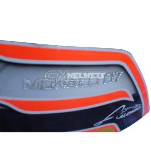 FERNANDO ALONSO 2007 MONACO GP F1 REPLICA HELMET FULL SIZE