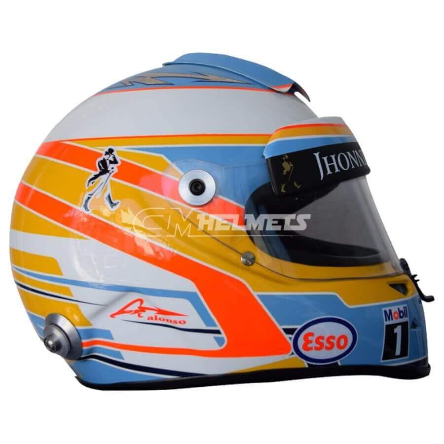 FERNANDO ALONSO 2015 F1 REPLICA HELMET FULL SIZE
