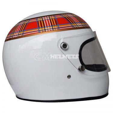 JACKIE STEWART 1973 WORLD CHAMPION F1 REPLICA HELMET FULL SIZE
