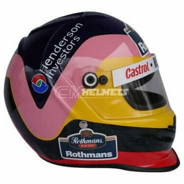 JACQUES VILLENEUVE 1997 F1 WORLD CHAMPION F1 REPLICA HELMET FULL SIZE