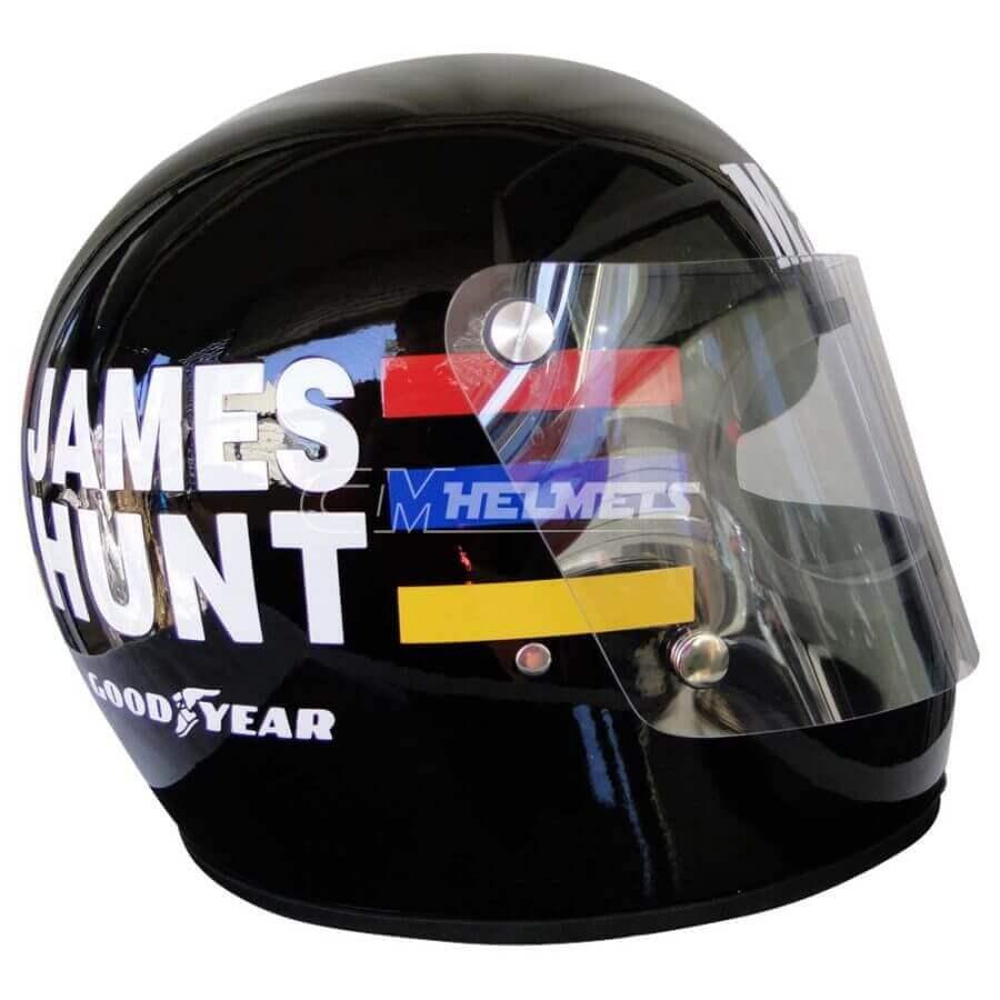 JAMES HUNT 1976 WORLD CHAMPION VINTAGE RETRO F1 REPLICA HELMET FULL SIZE