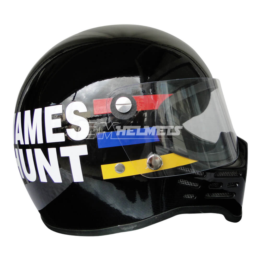 JAMES HUNT 1979 SIMPSON BANDIT VINTAGE RETRO F1 REPLICA HELMET FULL SIZE