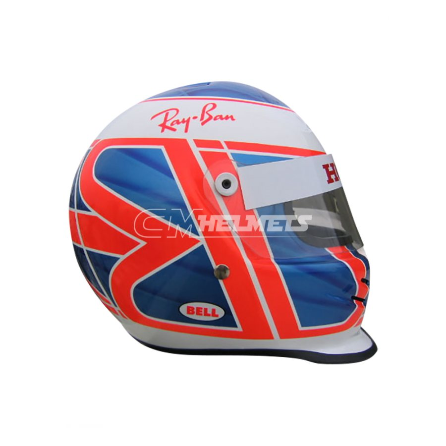 JENSON BUTTON 2005 F1 REPLICA HELMET FULL SIZE