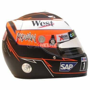 KIMI RAIKKONEN 2005 MONACO GP F1 REPLICA HELMET FULL SIZE
