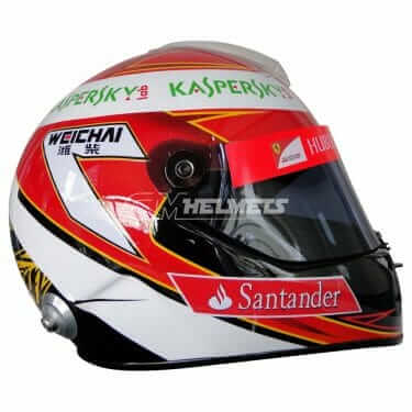 KIMI RAIKKONEN 2014 F1 REPLICA HELMET FULL SIZE