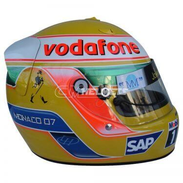 LEWIS HAMILTON 2007 DIAMOND EDITION F1 REPLICA HELMET FULL SIZE