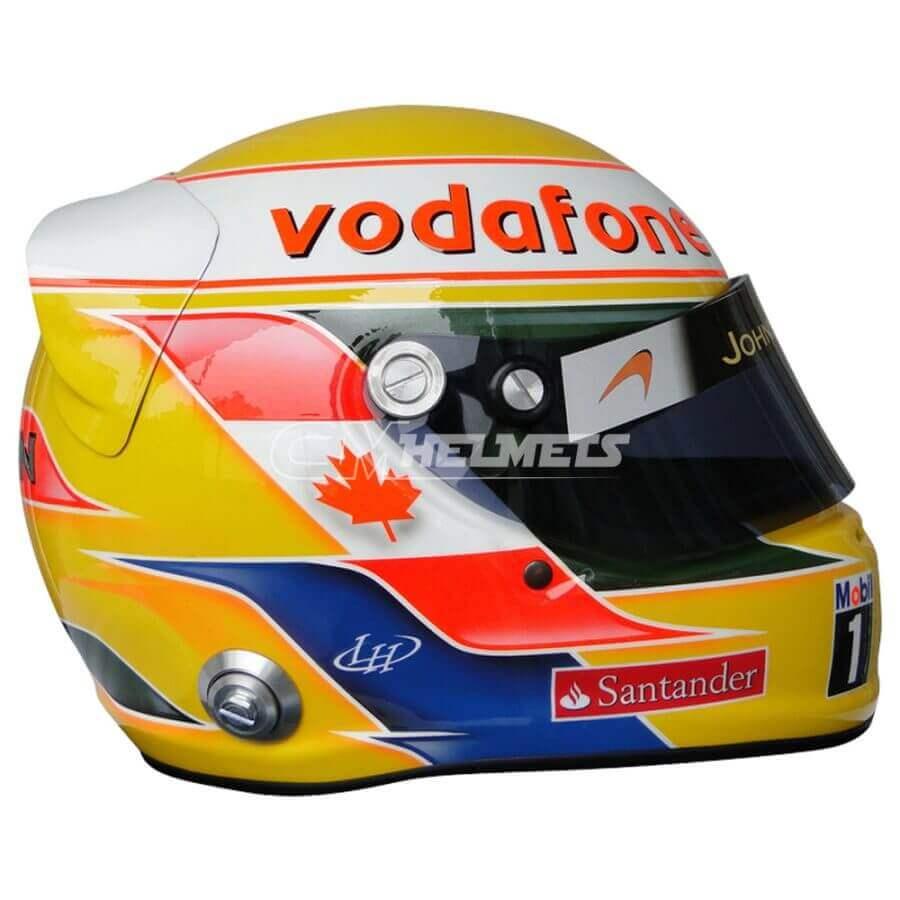 LEWIS HAMILTON 2012 MONTREAL CANADA GP F1 REPLICA HELMET FULL SIZE