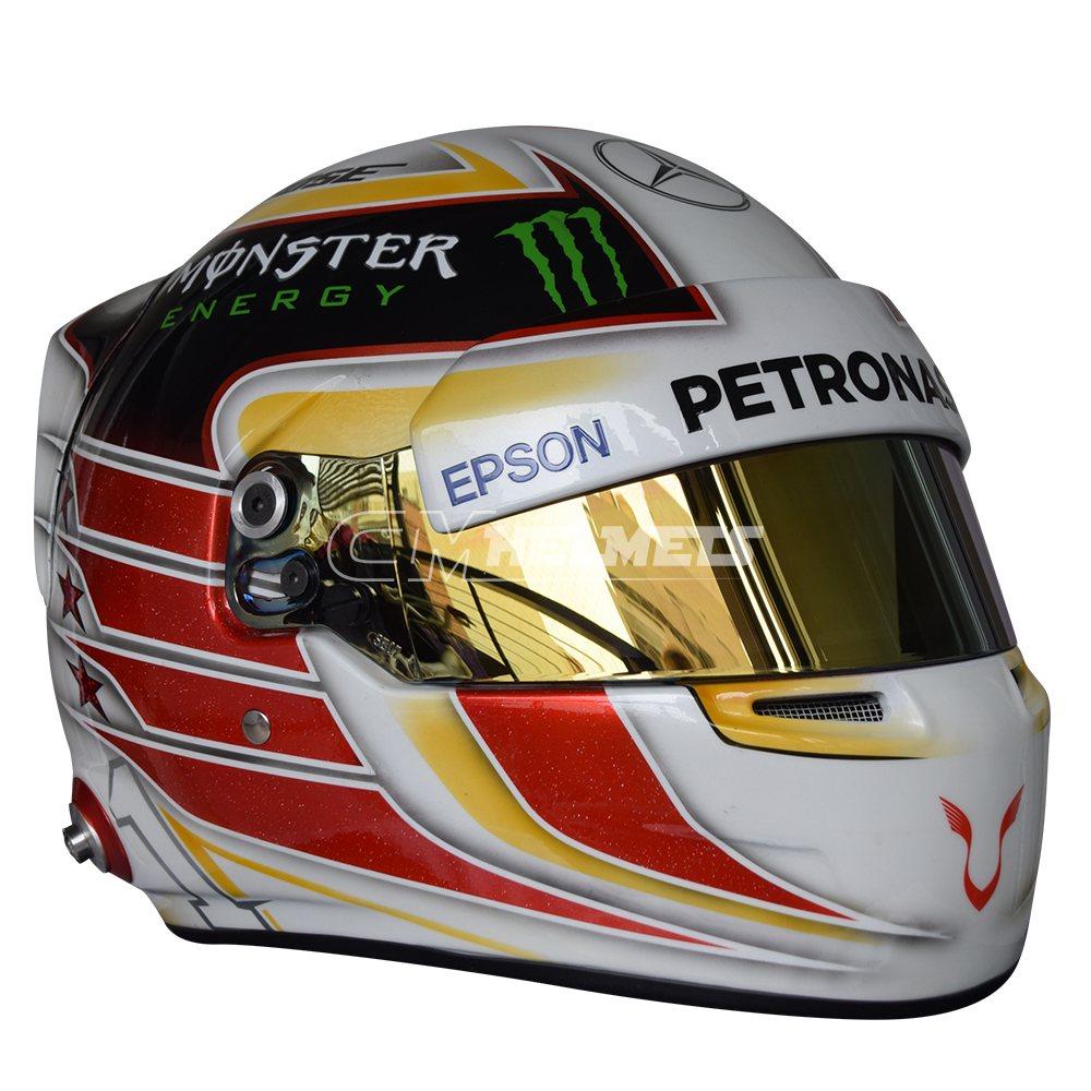 LEWIS HAMILTON 2016 F1 REPLICA HELMET FULL SIZE