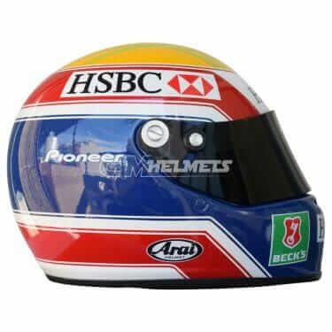 MARK WEBBER 2004 F1 REPLICA HELMET FULL SIZE