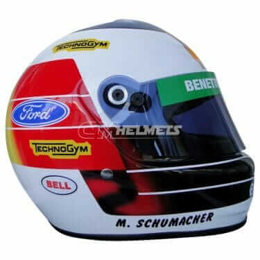 MICHAEL SCHUMACHER 1993 F1 REPLICA HELMET FULL SIZE
