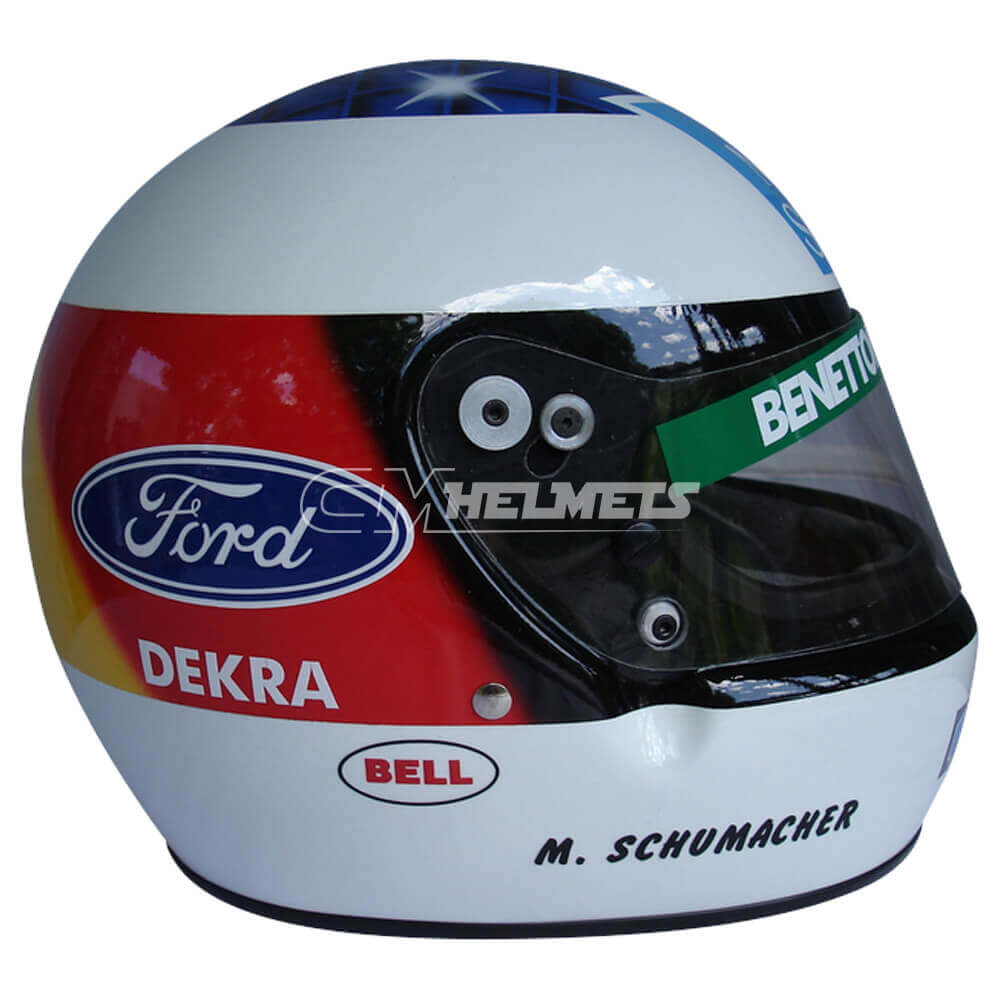 MICHAEL SCHUMACHER 1994 F1 REPLICA HELMET FULL SIZE