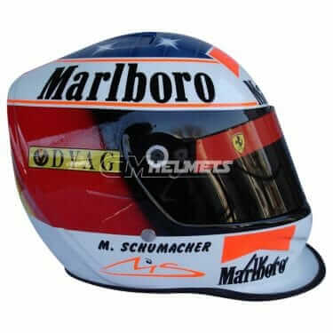 MICHAEL SCHUMACHER 1996 F1 REPLICA HELMET FULL SIZE