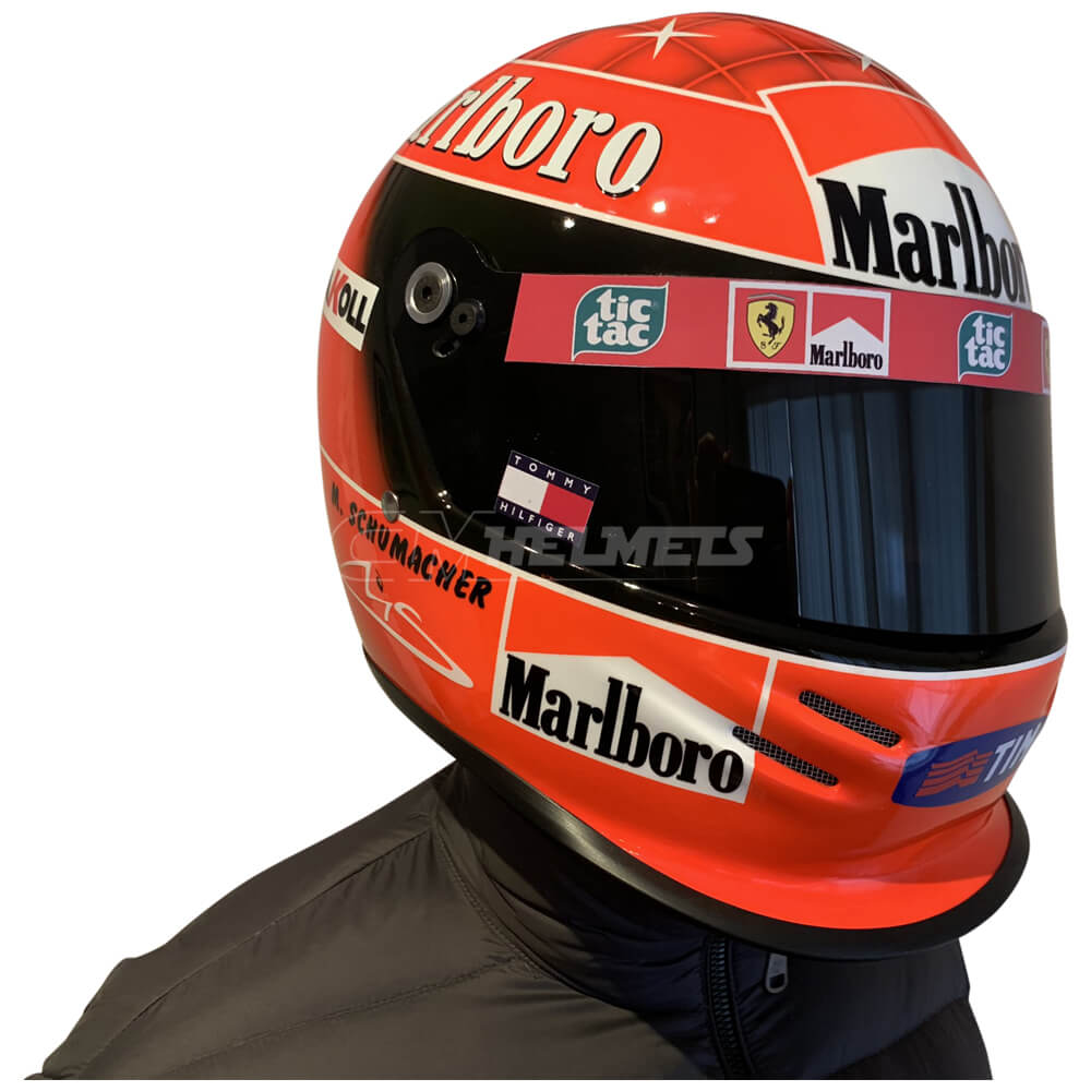 MICHAEL SCHUMACHER 2000 WORLD CHAMPION F1 REPLICA HELMET ...
