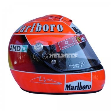 MICHAEL SCHUMACHER 2004 WORLD CHAMPION NEW DESIGN F1 REPLICA HELMET FULL SIZE