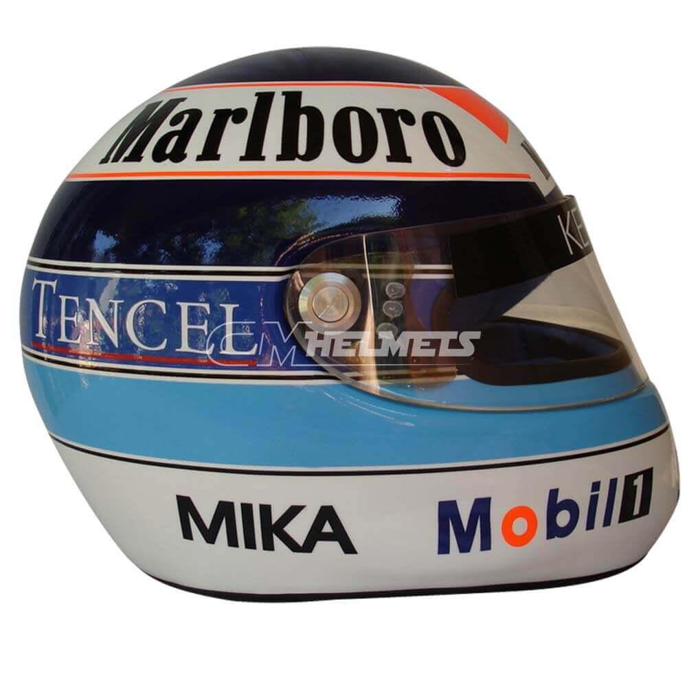 MIKA HAKKINEN 1993 F1 REPLICA HELMET FULL SIZE
