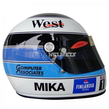 MIKA HAKKINEN 1998 F1 REPLICA HELMET FULL SIZE
