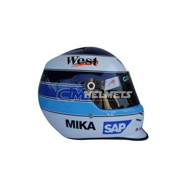 MIKA HAKKINEN 2001 F1 REPLICA HELMET FULL SIZE