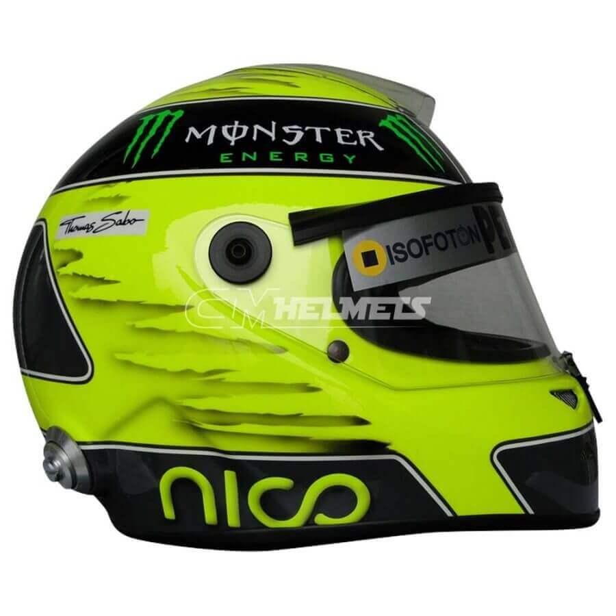 NICO ROSBERG 2012 F1 REPLICA HELMET FULL SIZE