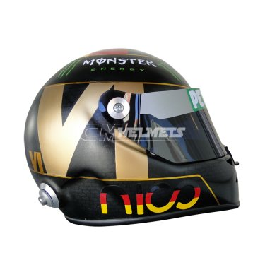 NICO ROSBERG 2014 HOCKENHEIM GP F1 REPLICA HELMET FULL SIZE