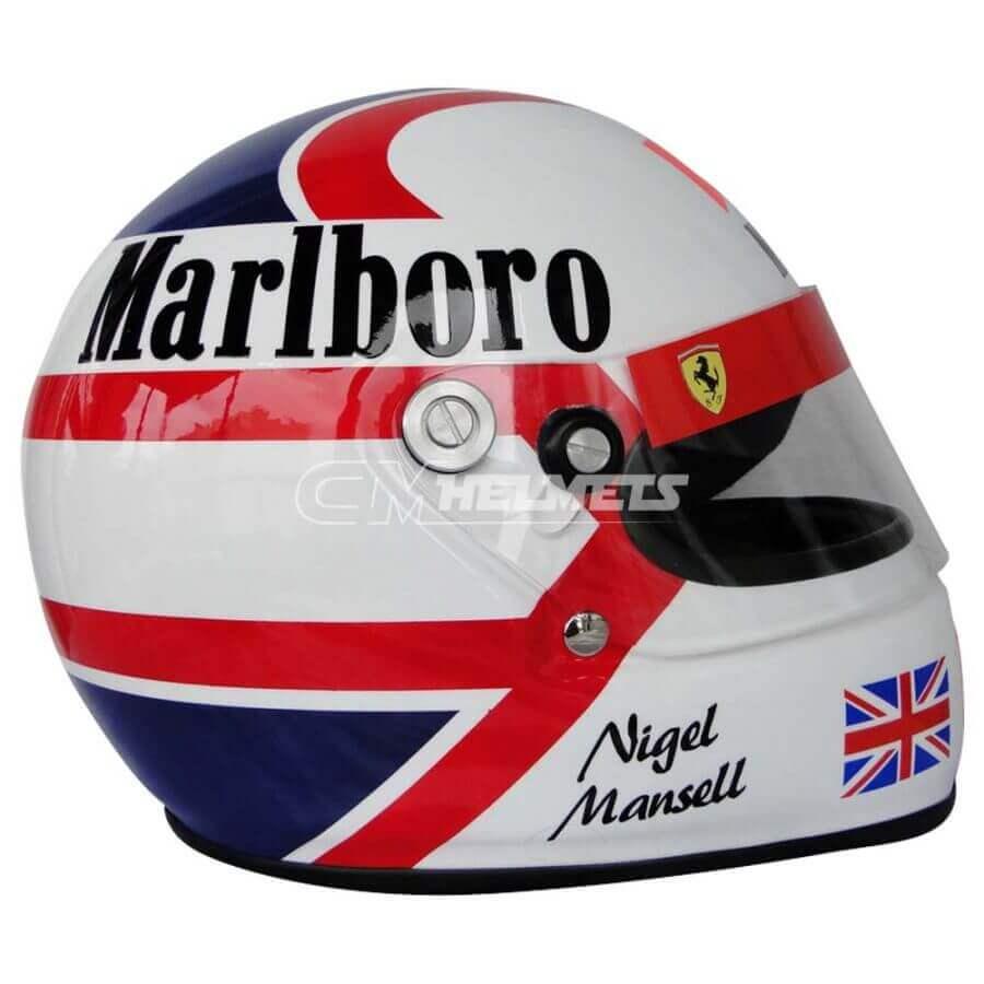 NIGEL MANSELL 1989-1990 F1 REPLICA HELMET FULL SIZE