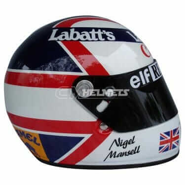 NIGEL MANSELL 1991 F1 REPLICA HELMET FULL SIZE