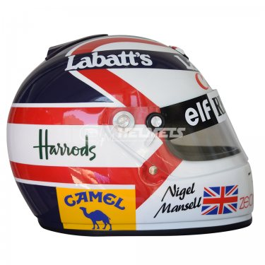 NIGEL MANSELL 1992 WORLD CHAMPION F1 REPLICA HELMET FULL SIZE
