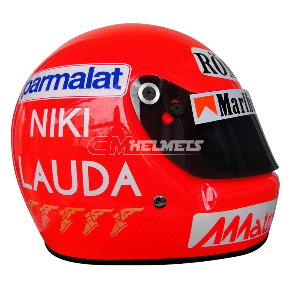 NIKI LAUDA 1977 WORLD CHAMPION F1 REPLICA HELMET FULL SIZE