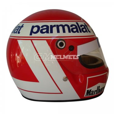 NIKI LAUDA 1984 WORLD CHAMPION F1 REPLICA HELMET FULL SIZE