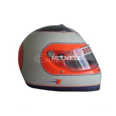 RUBENS BARRICHELLO 2006 LUCKY STRIKE F1 REPLICA HELMET FULL SIZE