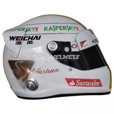 SEBASTIAN VETTEL 2015 GP MONZA F1 REPLICA HELMET FULL SIZE