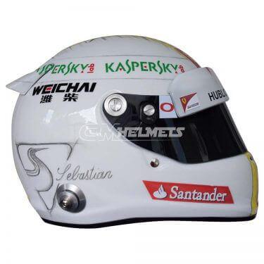 SEBASTIAN VETTEL 2015 SUZUKA GP F1 REPLICA HELMET FULL SIZE