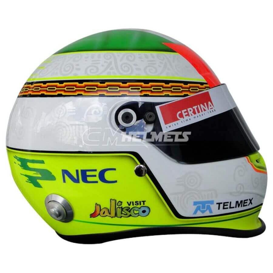 SERGIO PEREZ 2012 F1 REPLICA HELMET FULL SIZE