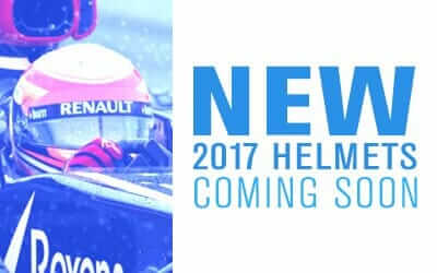 New 2017 Helmets Coming Soon