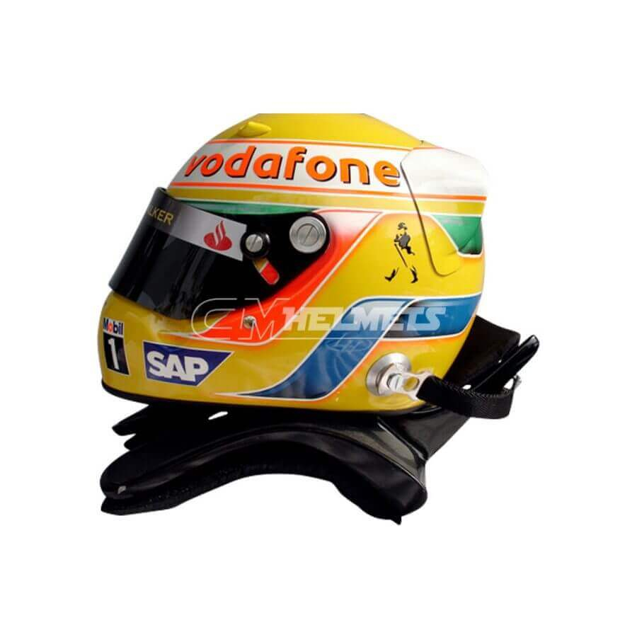 YOUR F1 NASCAR INDYCAR FAVORITE DRIVER´S HELMET PAINTED IN ANY COLOR