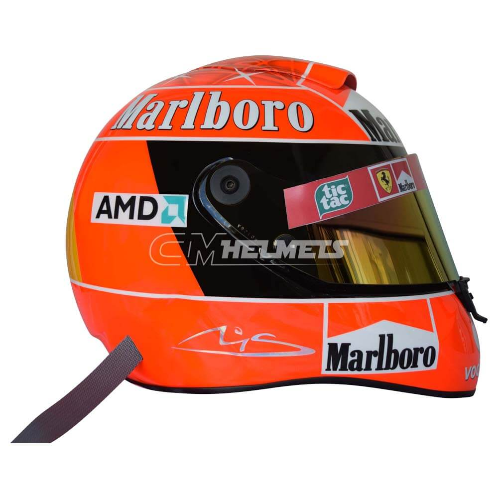 Michael Schumacher 2004 World Champion F1 Replica Helmet Full Size Cm Helmets