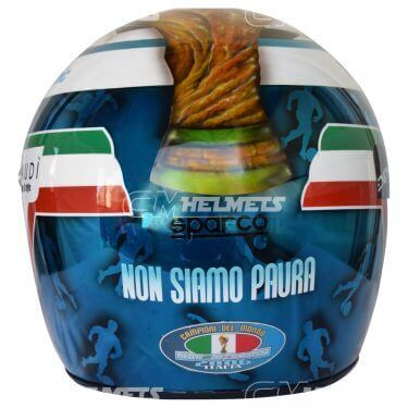 Jarno-Trulli-2006- Italy-World-Champion-Commemorative- Helmet-F1-Replica-Helmet- Full-Size-be6