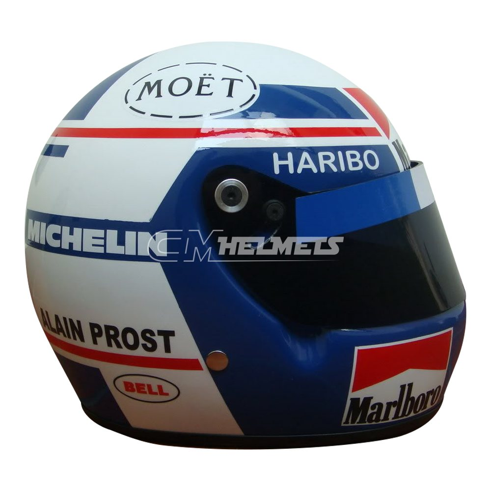 ALAIN PROST 1984 WORLD CHAMPION F1 REPLICA HELMET FULL SIZE