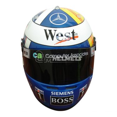 DAVID COULTHARD 2004 HUNGARIAN GP  F1 REPLICA HELMET FULL SIZE
