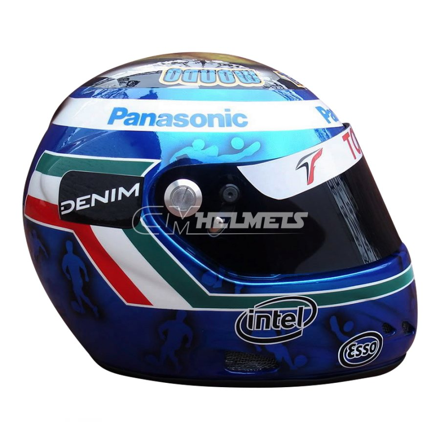 JARNO TRULLI 2006 MAGNYCOURS GP WORLD CUP F1 REPLICA HELMET FULL SIZE
