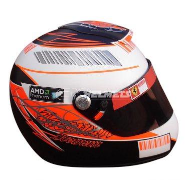 KIMI RAIKKONEN 2007 USA GP F1 REPLICA HELMET FULL SIZE