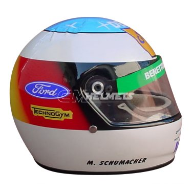 MICHAEL SCHUMACHER 1992 F1 REPLICA HELMET FULL SIZE