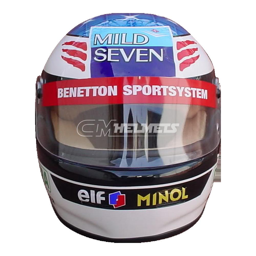 MICHAEL SCHUMACHER 1994 NEW VERSION F1 REPLICA HELMET FULL ...