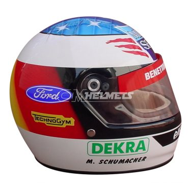 MICHAEL SCHUMACHER 1994 NEW VERSION F1 REPLICA HELMET FULL SIZE