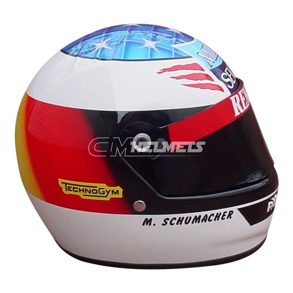 MICHAEL SCHUMACHER 1995 F1 REPLICA HELMET FULL SIZE